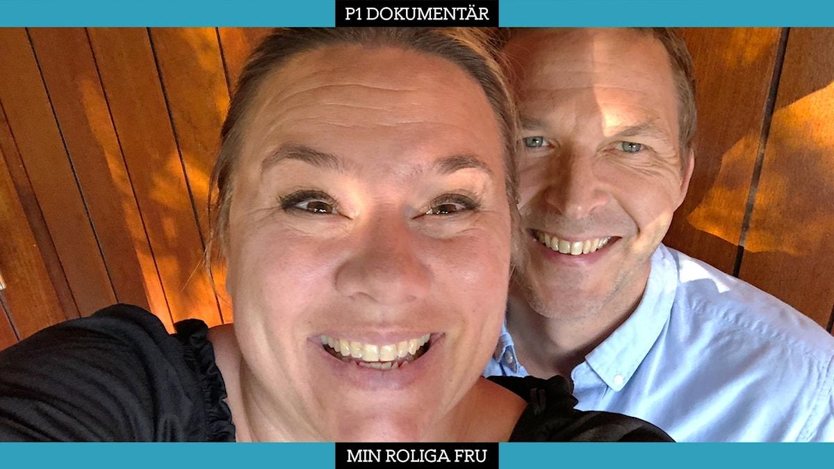 Malin Appeltofft och Tobias Aspelin.