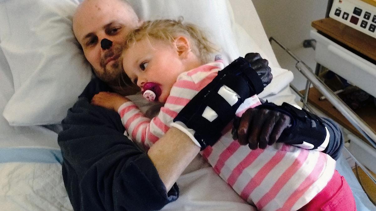 Hempa och hans dotter Mireya.