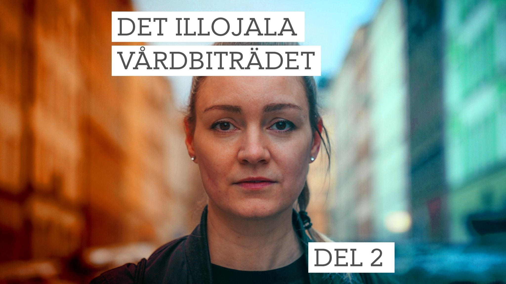 Stine Christophersen i P1 Dokumentären Det illojala vårdbiträdet.