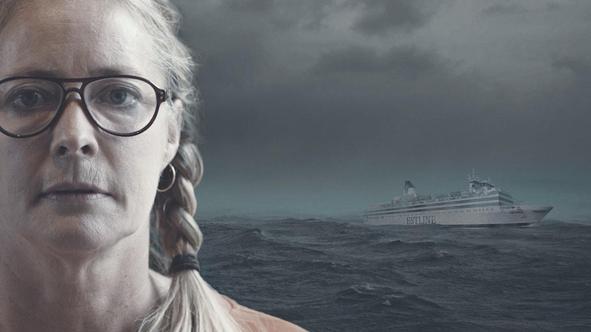 Ulla berättar om natten då Estonia sjönk och hur hon klarade sig levande undan.