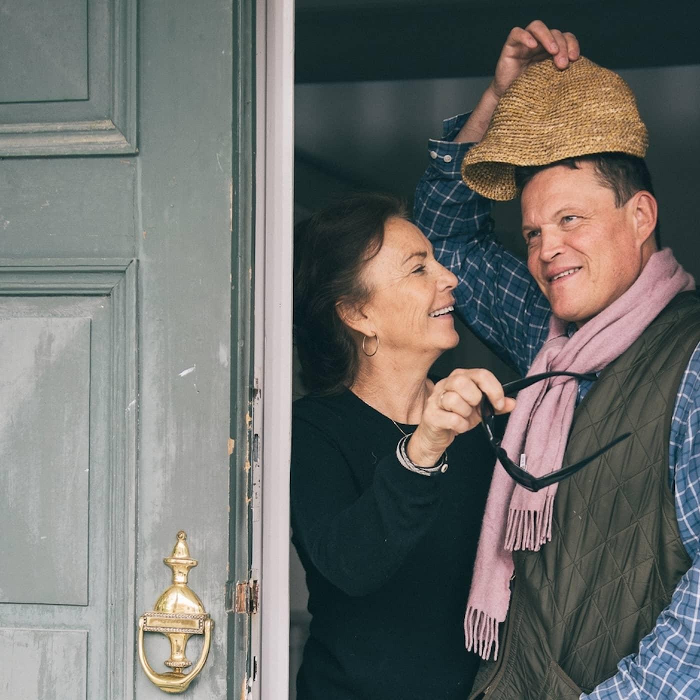 Scener ur ett annat äktenskap: Inese och Per Morberg (R)