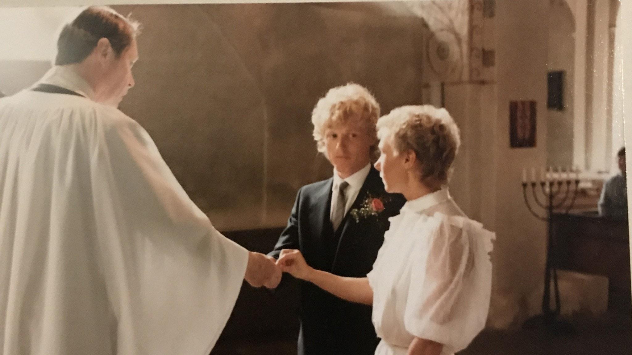 Eric och Ewa har skilt sig två gånger och gift sig tre.