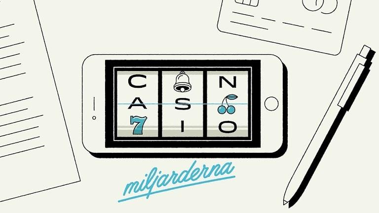 Casinomiljarderna  – en dokumentär om spelbranschen (R)