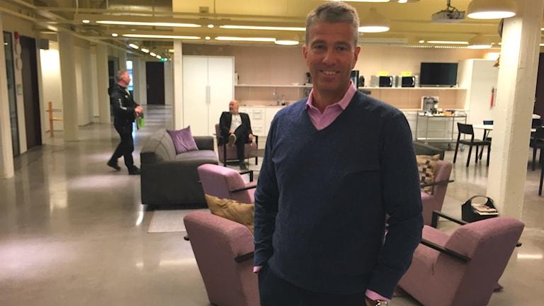 Ulf Annvik, näringslivschef i Värnamo hoppas att Norrmännen ska komma till Gnosjöregionen.