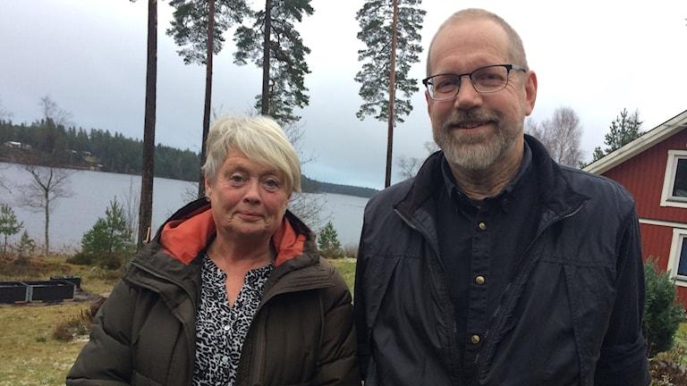 Pia Andersson och Hans Fransson som bor i Granarp.