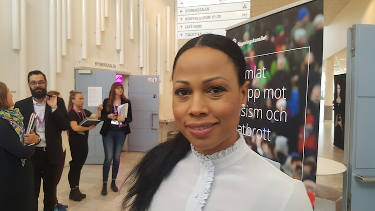 Alice Bah Kuhnke är Sveriges kulturminiser