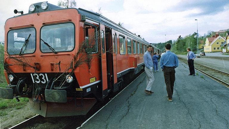 Inlandsbanan Dieseldrivet tåg Y1