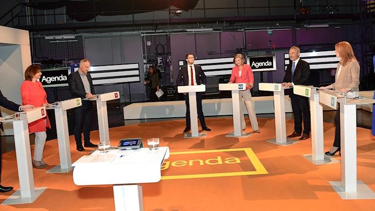 Partiledardebatt