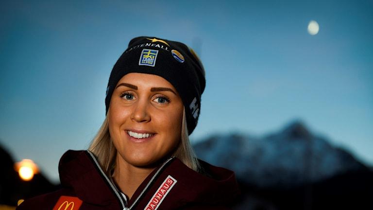 Emelie Wikström. Foto: Pontus Lundahl/TT.