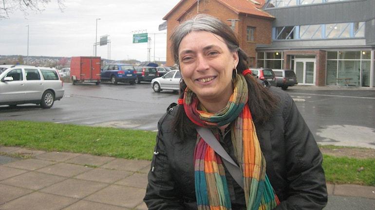 Etalka Huber, miljöpartiet, Nässjö. Foto: Peter Jernberg/SR