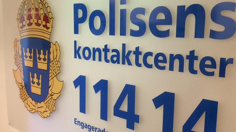 Polisen 114 14 Polisens kontaktcenter