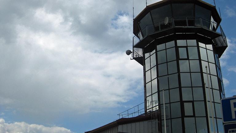 Jönköping airport.