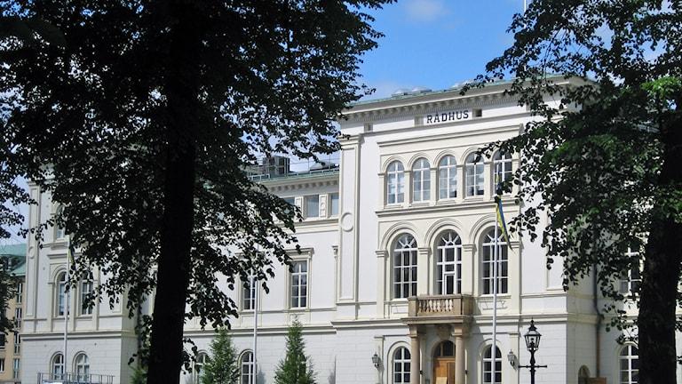 Rådhuset Jönköping. Foto David Westh/Sveriges Radio.