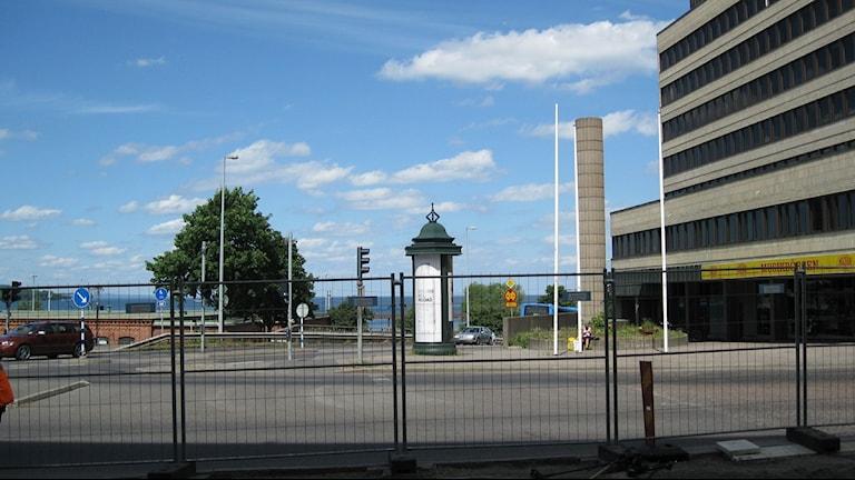 Bild på höghuset.