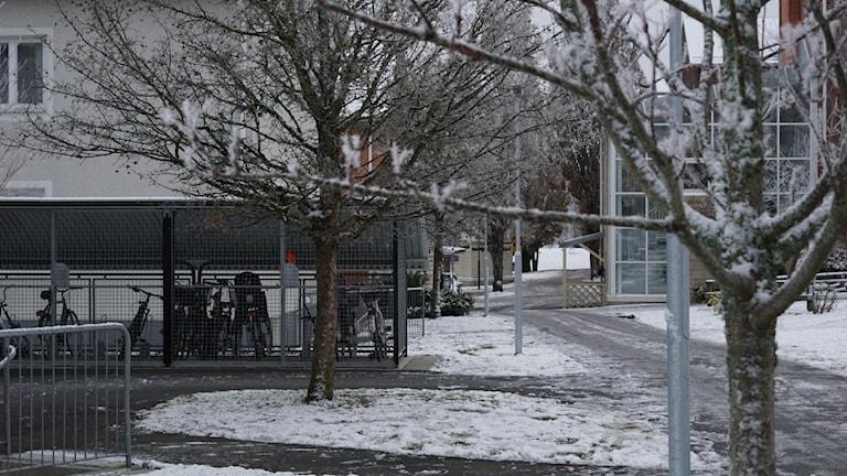 Här skedde det misstänkta mordförsöket på en man i Värnamo