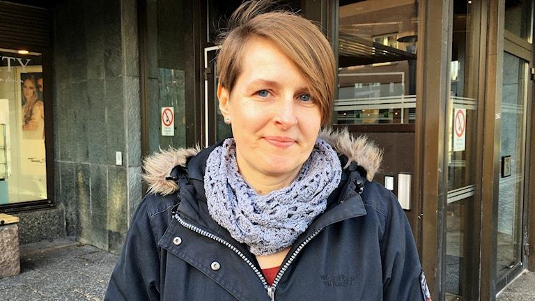 Cecilia Karmetun, miljöinspektör i Vetlanda kommun.