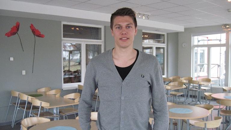 Martin Claesson har skrivit på för två nya år i IFK Värnamo. Arkivbild, foto: Mattias Sundler/Sveriges Radio.