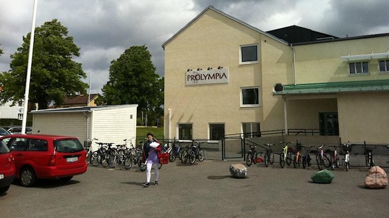 Friskolan Prolympia i Jönköping. Foto Rebecka Montelius, Sveriges Radio