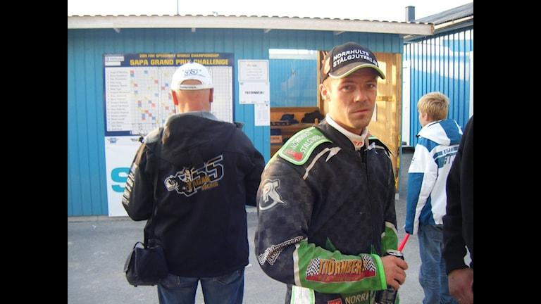Peter Ljung tog sig inte vidare till nästa års VM-serie, men var inte jättebesviken efteråt. Foto: Bertil Nilsson / Sveriges Radio