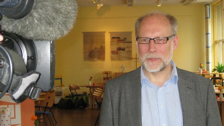 Stefan Attefall, civil- och bostadsminister, Kristdemorkat, från Jönköping. Foto: Dan Segerson/Sveriges Radio