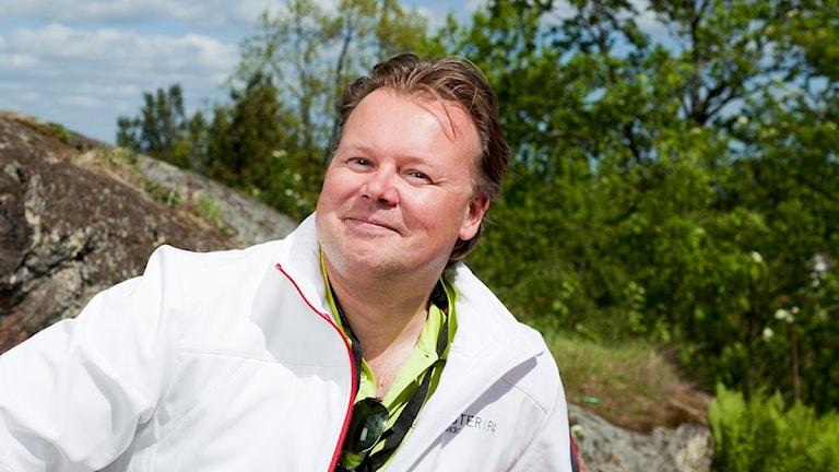 Calle Wisborg. Foto Mattias Ahlm/Sveriges Radio.