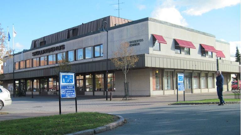 Vaggeryds kommunhus i Skillingaryd, Skillingehus Foto: Karin Malmsten/Sveriges Radio