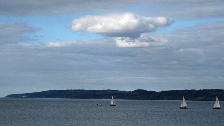 Vättern. Foto David Westh/Sveriges Radio.