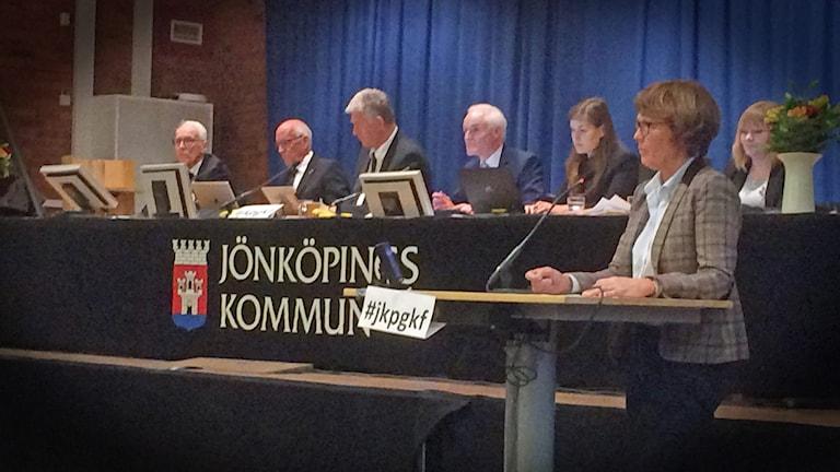 Budgetförhandling i KF Jönköping