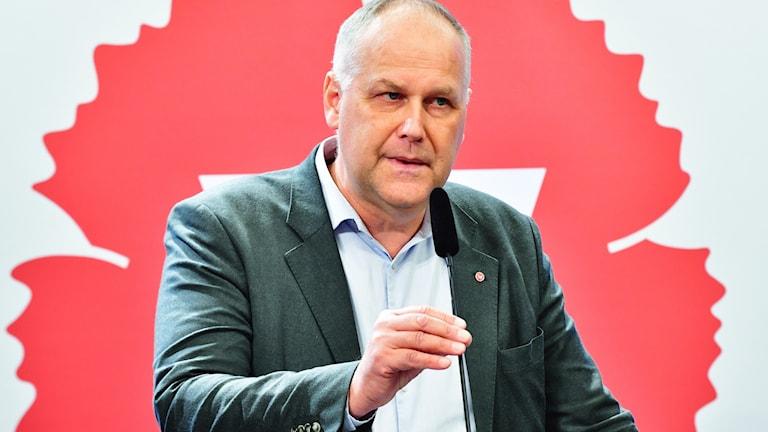 VÄNSTERPARTIETS JONAS SJÖSTEDT