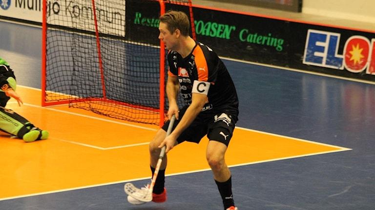Mullsjös lagkapten David Gillek gjorde två av målen.
