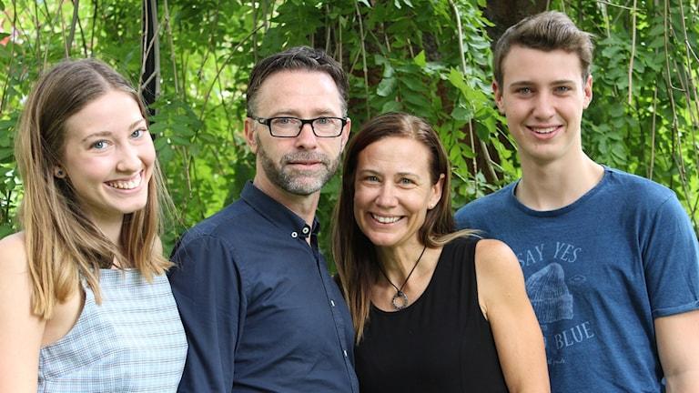 Familjen Gustafson bor i Chile