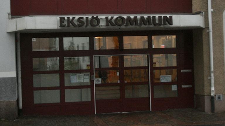 Eksjö Kommunhus. Foto:Ewa Malmsten/Sveriges Radio.