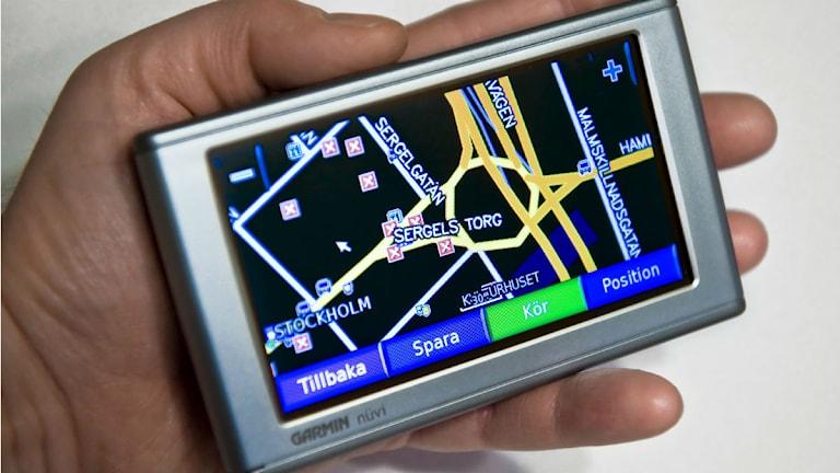 GPS-navigator Foto: Claudio Bresciani/SCANPIX