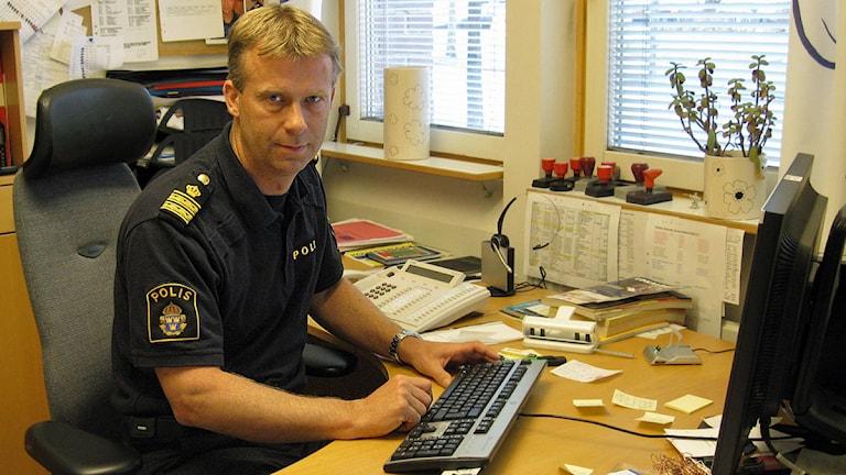Håkan Boberg. Foto: Karin Casslén/Sveriges Radio.