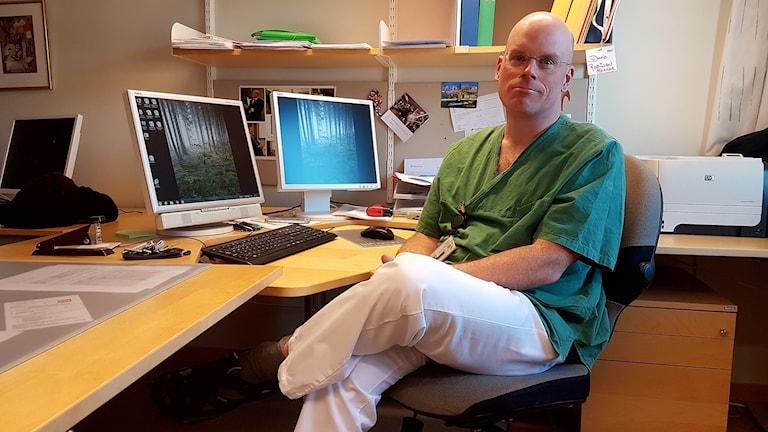 David Robinson, överläkare vid urologkliniken, Region Jönköpings län som är författare till studien.