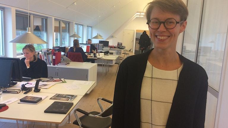 Elna Svenle, museichef på Vandalorum i Värnamo.