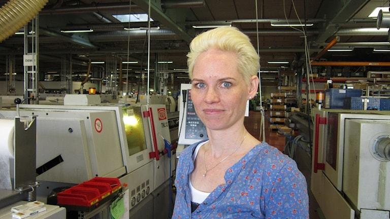 Linda Fransson Gnosjö Automatsvarvning