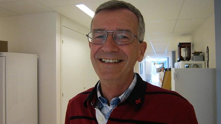 Smittskyddsläkare Peter Iveroth. Foto: Hanna Nilsson/SR