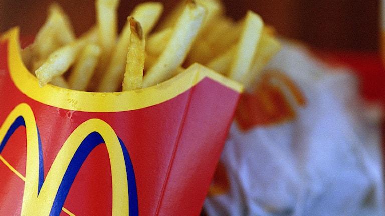 McDonalds. Foto: Fredrik Persson/Scanpix.