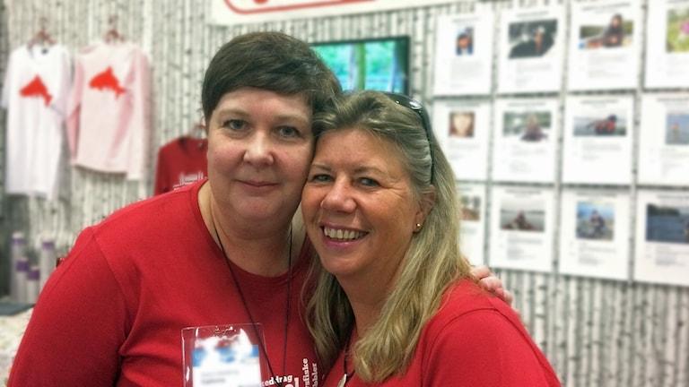 Fjällorna: Marie Wärnbring, Habo och Siv Jansson, ordf Älvkarlebyn.
