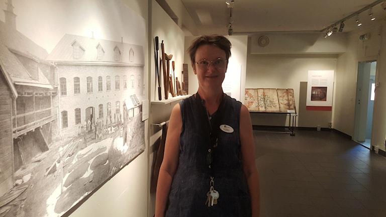 Pia Löfgren, museichef
