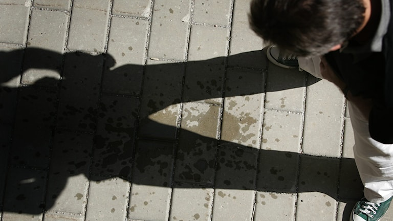 Man urinerar. : Fredrik Sandberg/Scanpix.