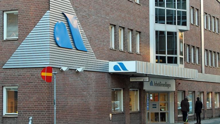 Arbetsförmedlingen. Foto: David Westh/Sveriges Radio.