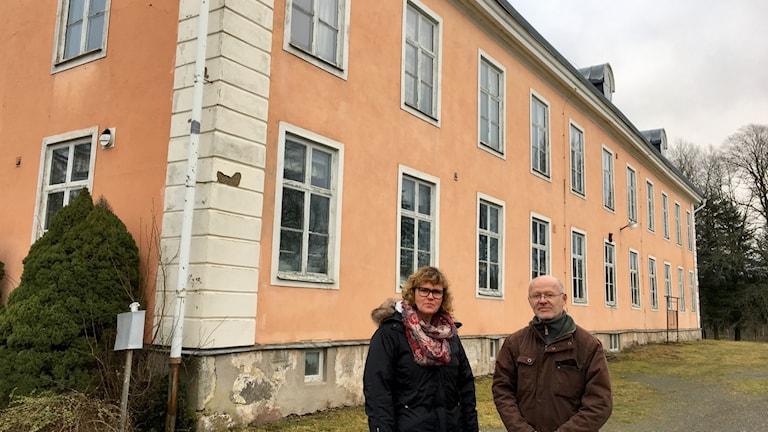 Maria Karlson och Göran Karlsson från Nydala bygdebolag.