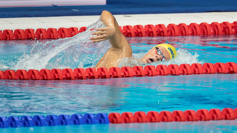 Victor Johansson simmar.