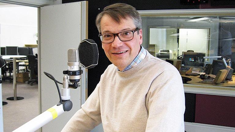 Göran Hägglund. Foto: Kajsa Hallberg/Sveriges Radio.