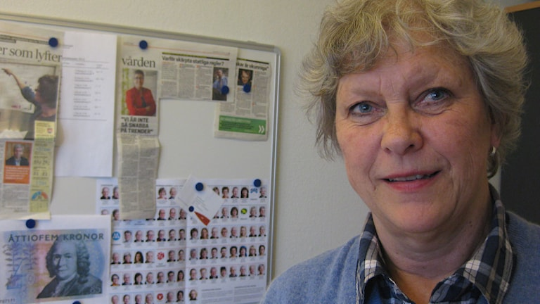 Lena Skaring-Thorsén. Foto: Dan Segerson/Sveriges Radio.