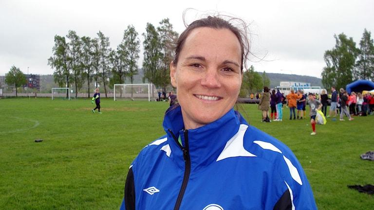 Pernilla Ljungbergh. Foto: Jonatan Nilsson/Sveriges Radio.