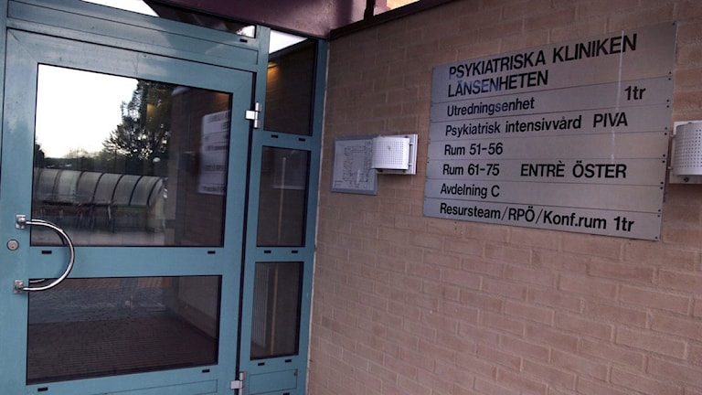 En bild på psykiatriska kliniken. Foto: Sandra Göök/Scanpix.
