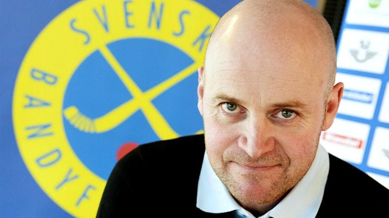 Jonas Claesson svenska bandylandslagets förbundskapten.